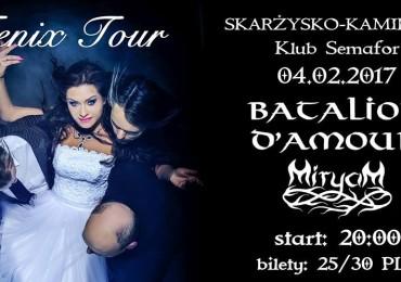 FENIX TOUR – Batalion d'Amour + Miryam