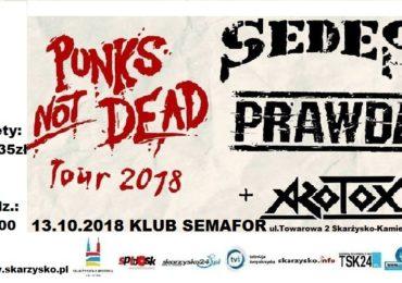 PUNKS NOT DEAD TOUR 2018/ SEDES+PRAWDA+AZOTOX