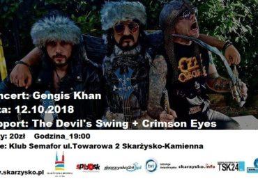 Gengis Khan /IT/ + The Devil's Swing +Crimson Eyes